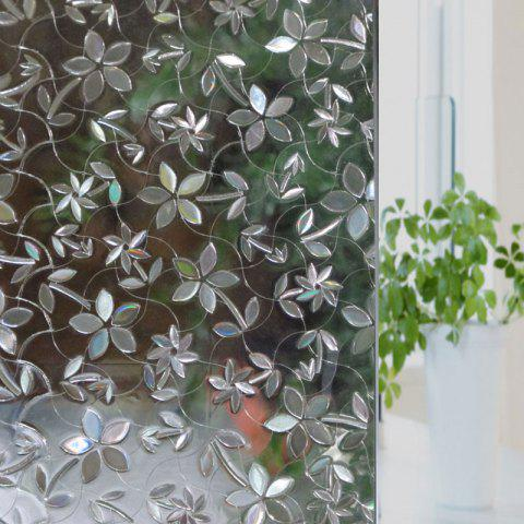 New Flower PVC Electrostatic Glass Window Wall Sticker