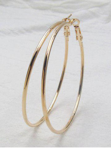 Cheap Big Hoop Exaggerate Earrings