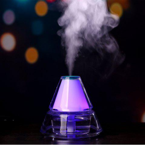 Iceberg Air Humidifier With Color Changing LED Light - Blue