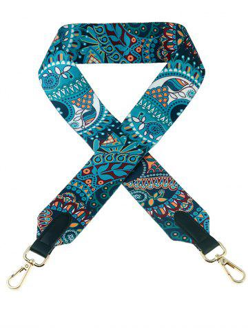 New Wide Bag Strap with Bohemia Print - COLORMIX  Mobile