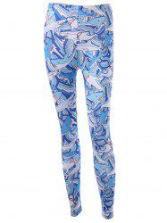 Shark Patterned Skinny Leggings