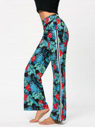Hawaii Print High Waist Casual Pants