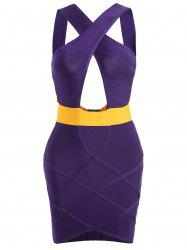 Club Cut Out Bandage Dress