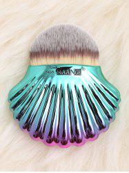 Two Tone Ocean Shell Shape Foundation Brush -