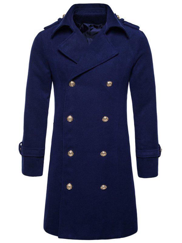 Cheap Double Breasted Peacoat