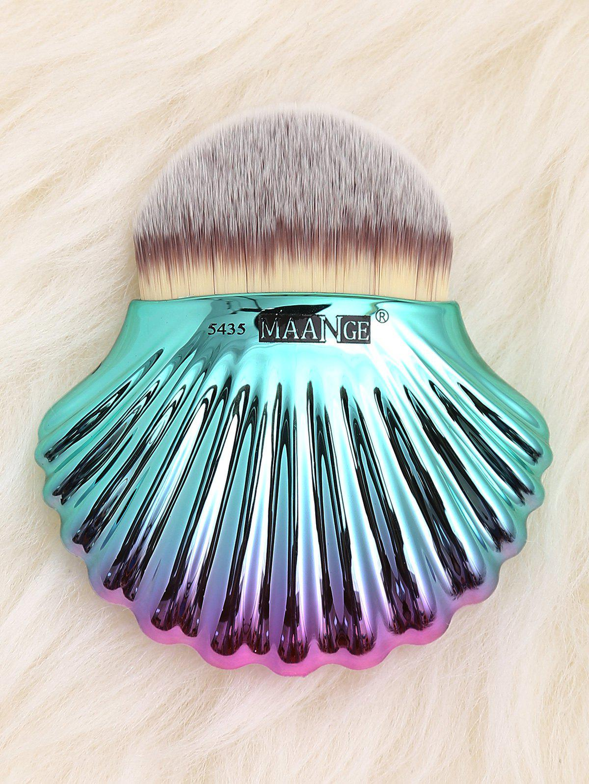 Outfits Two Tone Ocean Shell Shape Foundation Brush