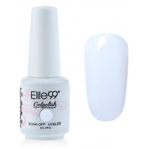 Elite99 6 Couleurs UV LED Kit de Vernis à Ongle Gel Faire Tremper -