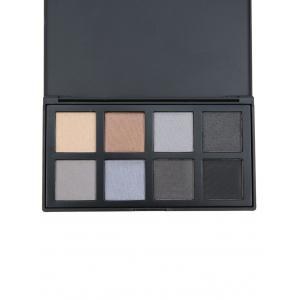 8 Colors Facial Earth Tone Eyeshadow Cosmetic Palette - #03