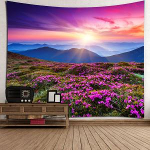 Lavender Pattern Wall Art Tapestry -