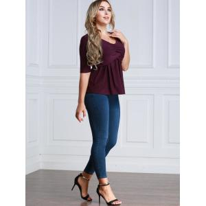 Twiat Half Sleeve Fitting Blouse -