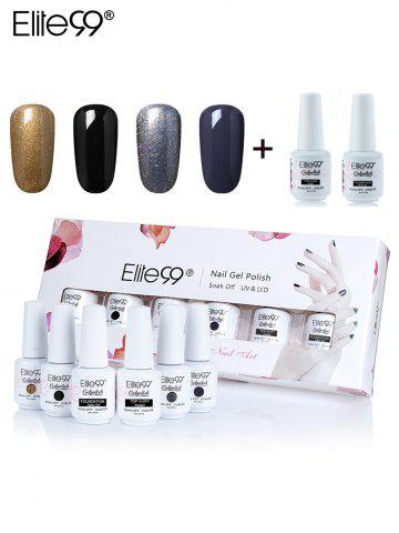 Cheap Elite99 6Pcs Polishing UV LED Soak Off Gel Nail Gift Set