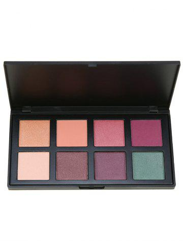 Hot 8 Colors Facial Earth Tone Eyeshadow Cosmetic Palette - #01  Mobile