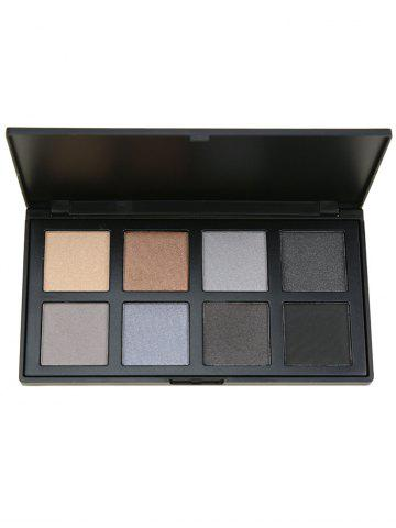 Store 8 Colors Facial Earth Tone Eyeshadow Cosmetic Palette #03