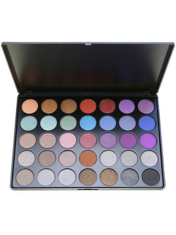Shops 35 Colors Matte Eyeshadow Cosmetic Palette - #01  Mobile