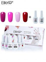 Elite99 6Pcs Polish UV LED Soak-off Gel Nail Art Manicure Set -