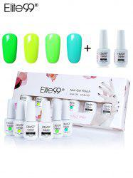 Elite99 6Pcs UV LED Soak-off Gel Polish Nail Set