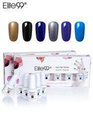 Elite99 6Colors UV LED Soak Off Gel Nail Polish Set