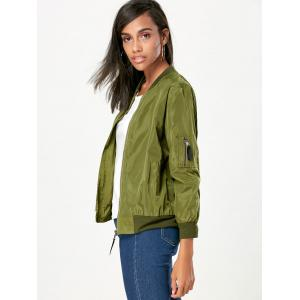 Pockets Bomber Jacket -