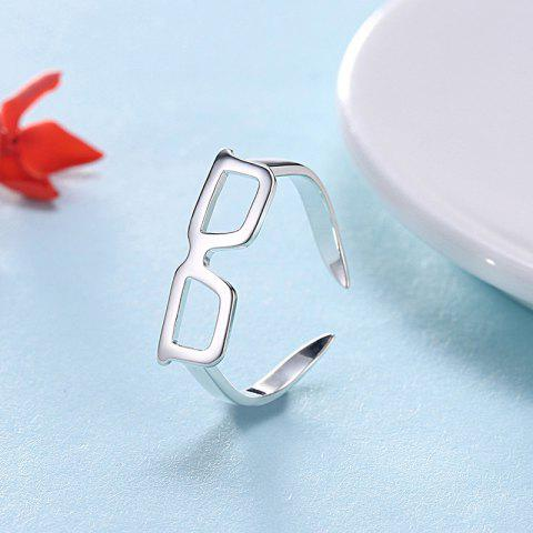 Outfit Alloy Glasses Cute Cuff Ring