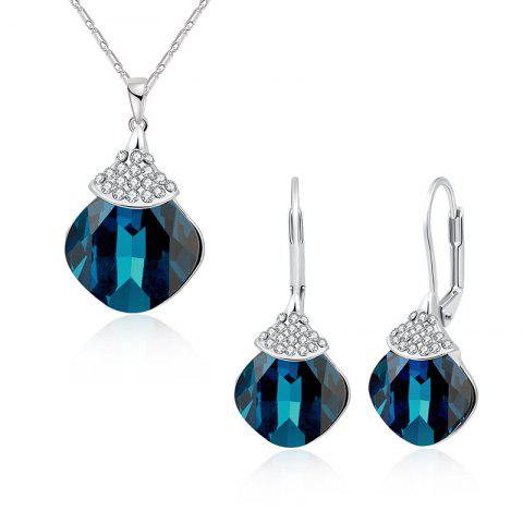 Store Zircon Fruit Shape Pendant Necklace and Earrings