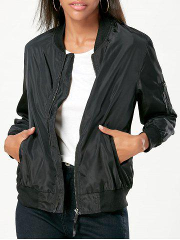 Shops Pockets Bomber Jacket