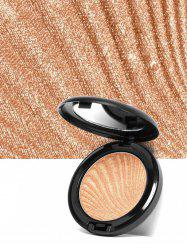 Shimmer Metallic Highlighter Powder Palette - 02#