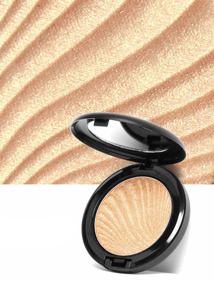 Shimmer Metallic Highlighter Powder PaletteBEAUTY<br><br>Color: #03; Category: Powder; Type: Powder; Season: Fall,Spring,Summer,Winter; Weight: 0.0800kg; Package Contents: 1 x Highlighter Powder Palette;