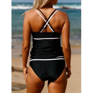 Ensemble Tankini Cross-Back Up - Noir XL