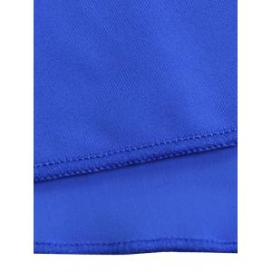 Scrunch Skirted Swimming Bottom - ROYAL XL