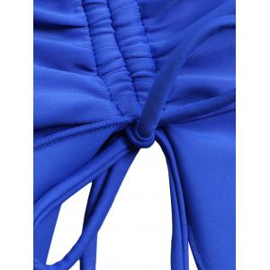 Scrunch Skirted Swimming Bottom - Royal 2XL