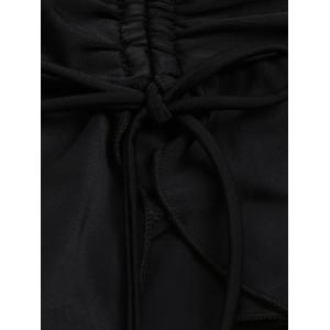Scrunch Skirted Swimming Bottom - Noir 2XL