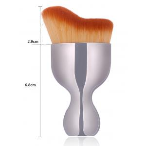 Oblate Wine Glass Design Makeup Foundation Brush -