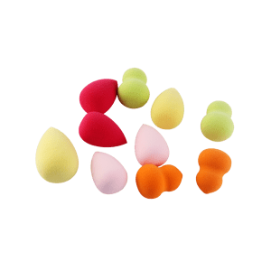 Ensemble de 10 Beauty Blender pour Maquillage -