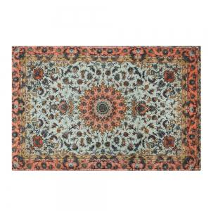 Persian Style Anti Slip Floor Area Rug - COLORMIX W24 INCH * L35.5 INCH