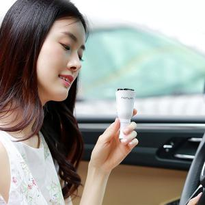 Air Purifying USB Car Aromatherapy Diffuser - WHITE