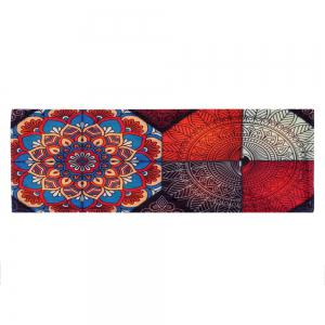 Antislip Bohemian Home Entrance Area Rug - Multicolore Largeur 24 pouces*Longueur 71pouces