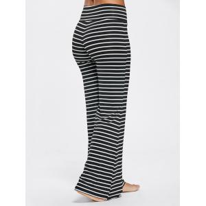 Stripe High Waisted Bell Bottoms Pants -