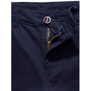 Zip Fly Skinny Chino Pants -