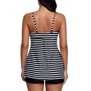 Striped Push Up Tankini Set -