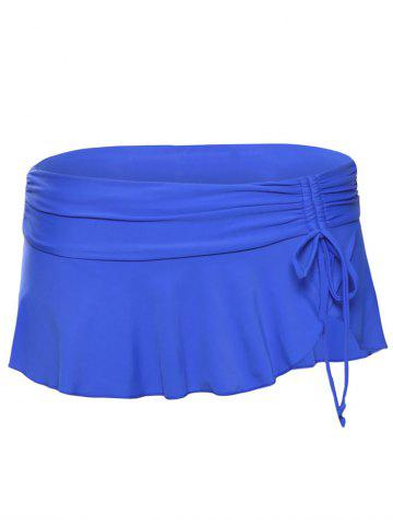 Fancy Scrunch Skirted Swimming Bottom - M ROYAL Mobile
