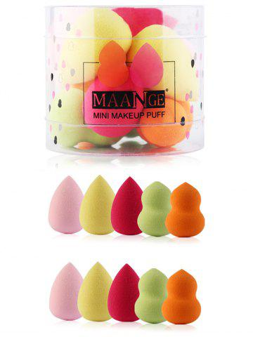 Latest 10Pcs Makeup Up Beauty Sponges Set - COLORFUL  Mobile