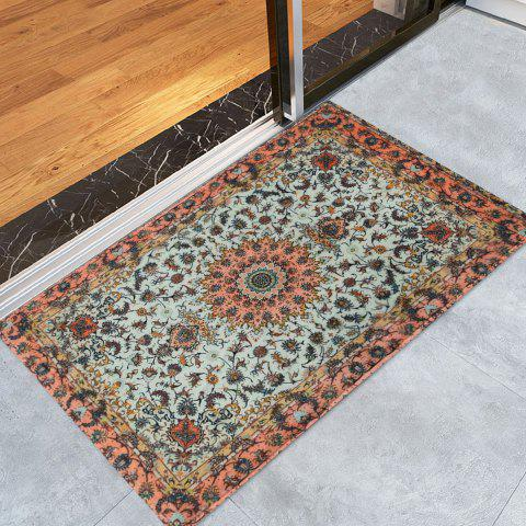 Buy Persian Style Anti Slip Floor Area Rug COLORMIX W24 INCH * L35.5 INCH