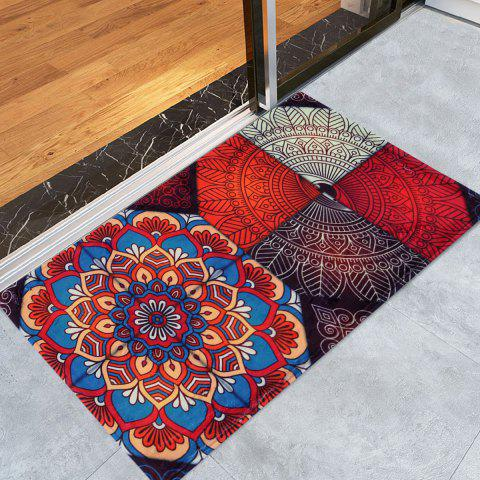 Outfits Antislip Bohemian Home Entrance Area Rug - W16 INCH * L24 INCH COLORMIX Mobile