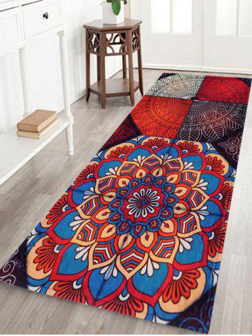 Antislip Bohemian Home Entrance Area Rug Multicolore Largeur 24 pouces*Longueur 71pouces