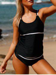 Ensemble Tankini Cross-Back Up -