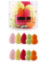 10Pcs Makeup Up Beauty Sponges Set -