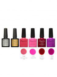 Waterproof Sapphire 4 Colors Kit UV Gel Polish Set -