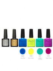 Soak Off Sapphire 4 Colors Kit UV Gel Polish Set -