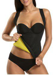 Underbust Neoprene Swim Top - BLACK S