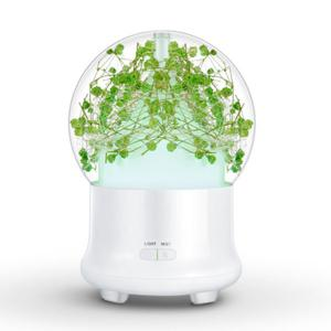 Humidificateur à air Eternal Flower Aroma Ultrasonic Mist Maker - Vert